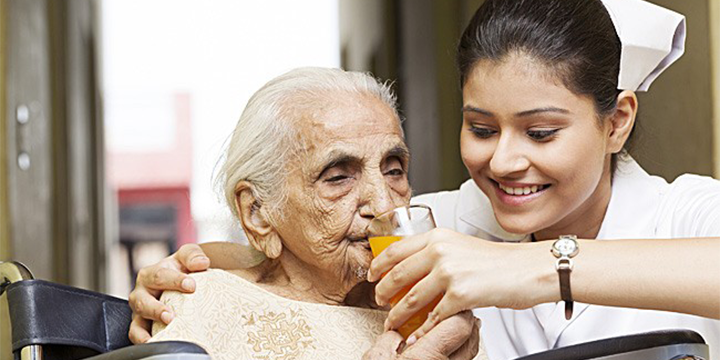 Dementia care in old age