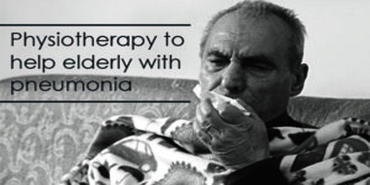 Physical therapy treatment for pneumonia