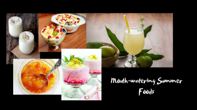 mouth-watering summer foods