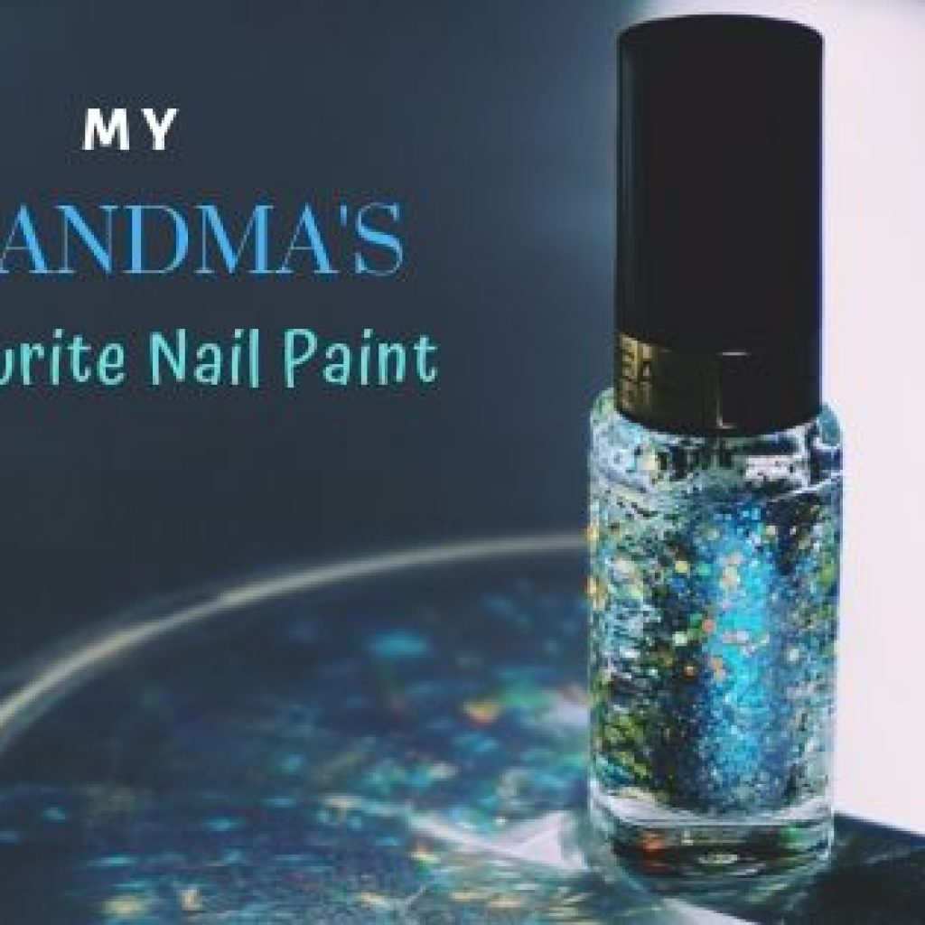 grandmother's favourite nail paint