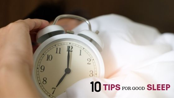 tips for good sleep at 50