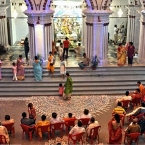 Pujo Parikrama for Seniors