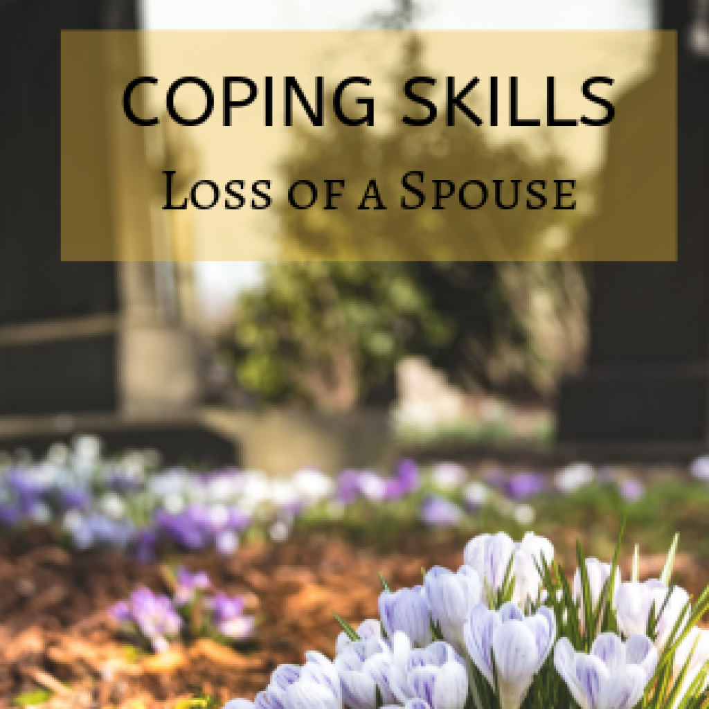 coping skills after death of spouse