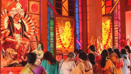 Pandal hopping for seniors
