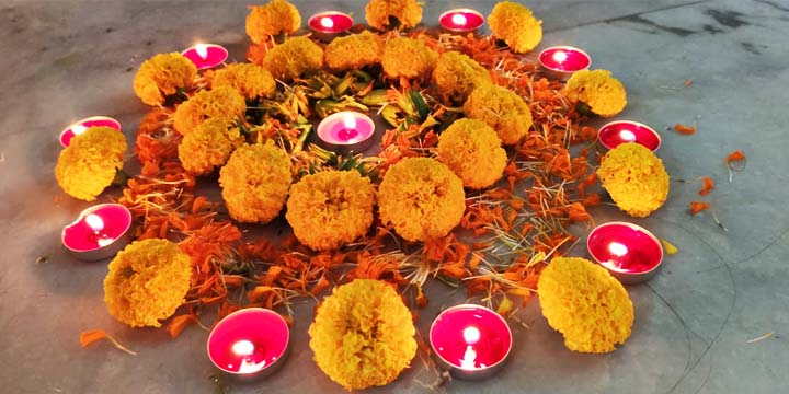 Diwali celebrations at