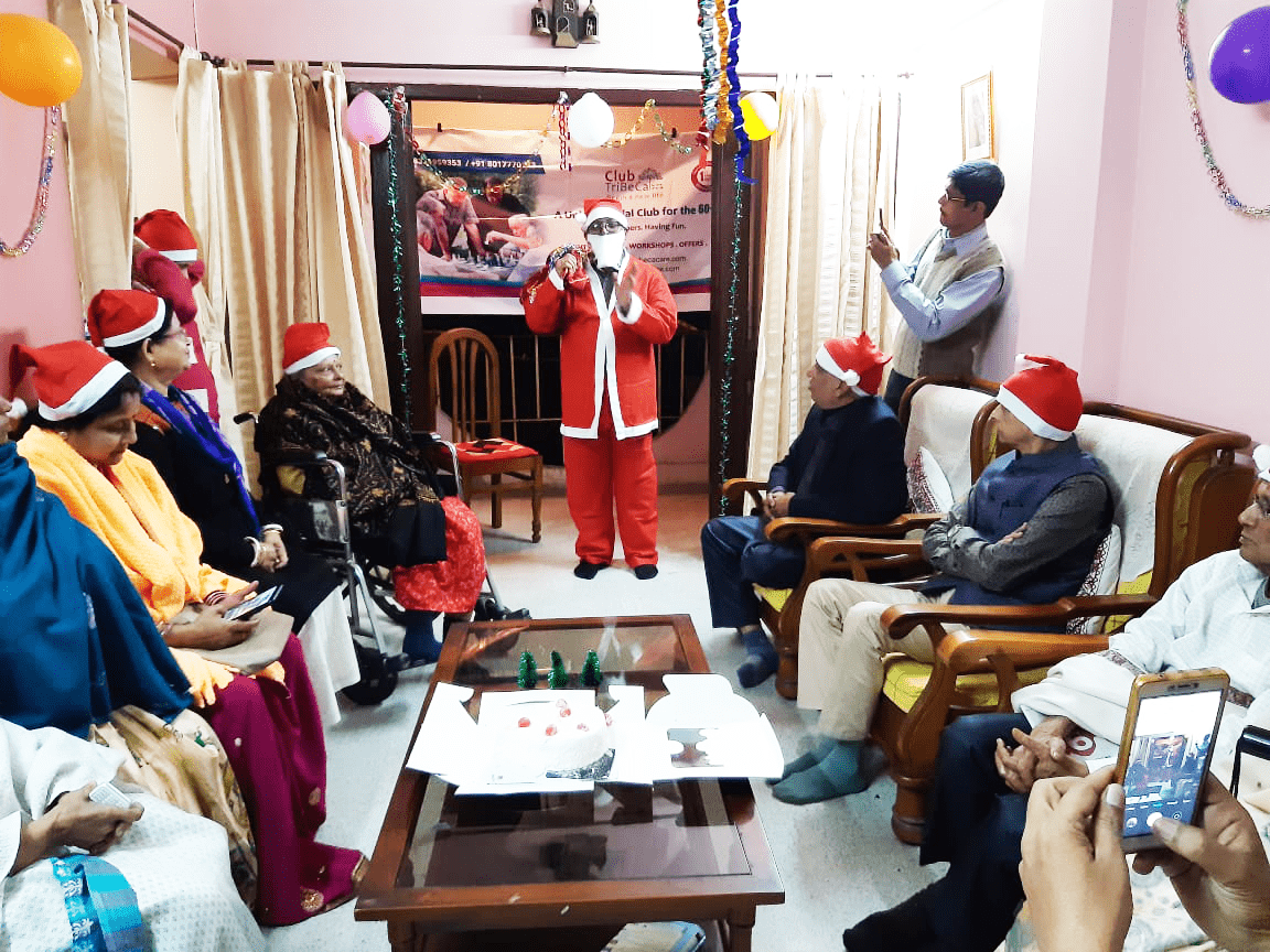 Christmas Party with Senior Members