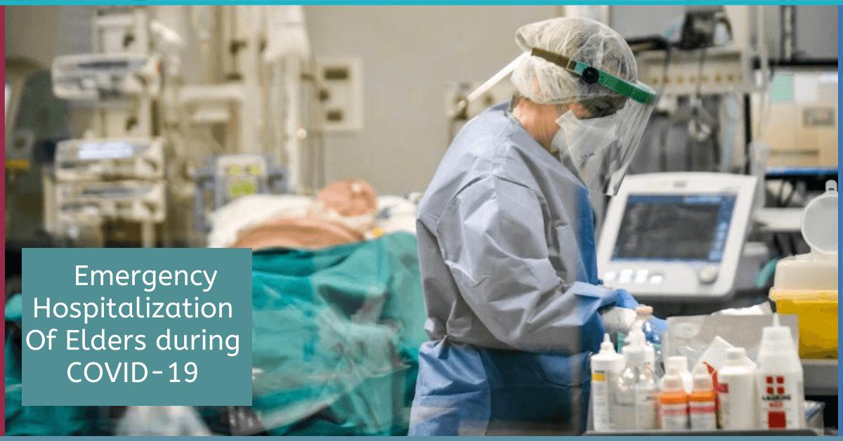 COVID-19 emergency hospitalization