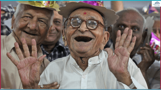 New Year Care for elderly