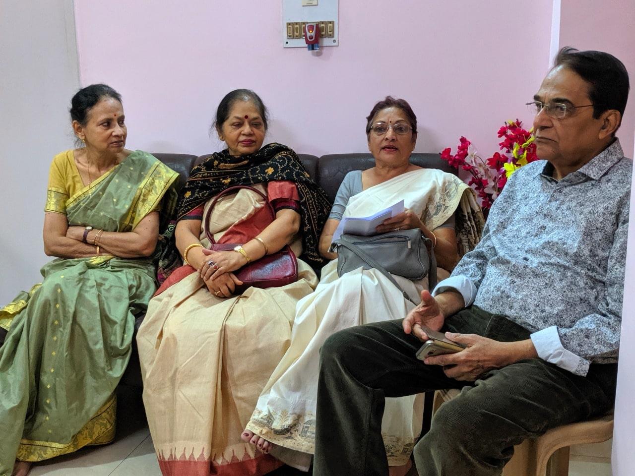 Mrs Brototi Mukherjee with our members