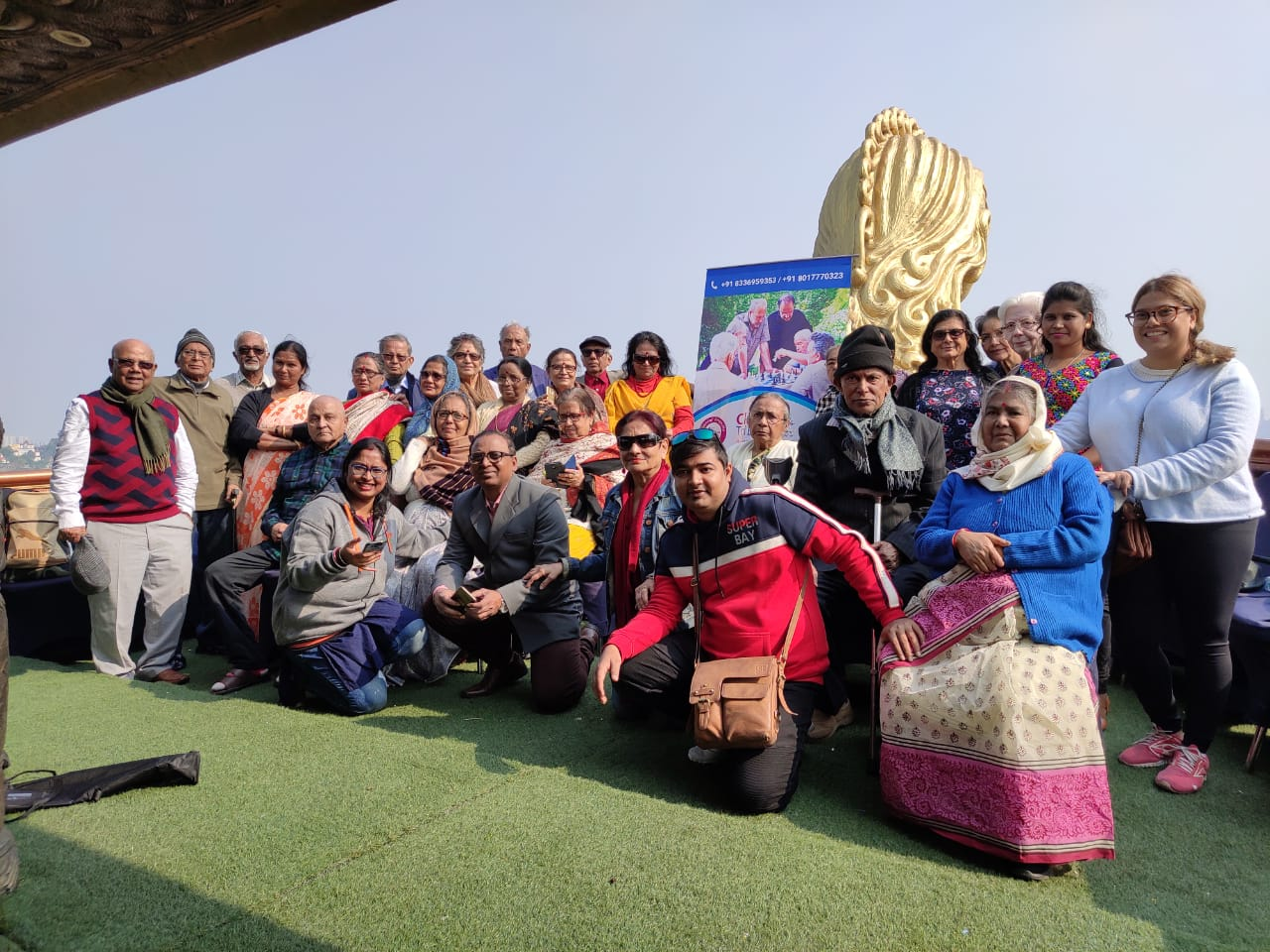 Our member on new year's picnic