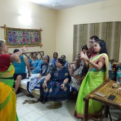 Cultural programme with seniors