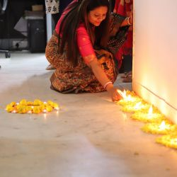 Diwali celebration at Tribeca Care