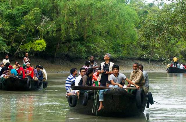 Sundarban lake